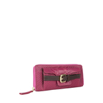 Clio W3 Women s Wallet, Snake Melbourne,  brown