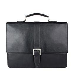Hudson Men's Laptop Bag Regular,  black