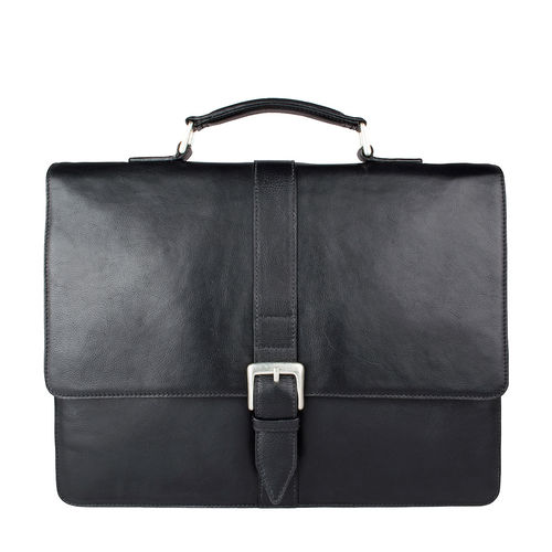 Hudson Men s Laptop Bag Regular,  black