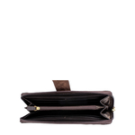 Ee Frieda W2 Women s wallet, Snake,  marsala