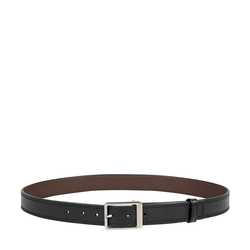 XAVIER MENS BELT REGULAR, 34-36,  black