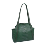 New York 01 Sb Women s Handbag, Baby Croco Melbourne Ranch,  emerald green