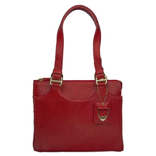 Nianna 01 Handbag,  red, pebble