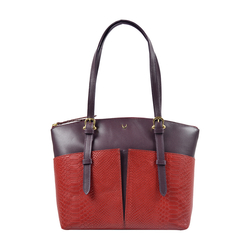 Virgo 01 Sb Women's Handbag, Snake Melbourne Ranch,  red