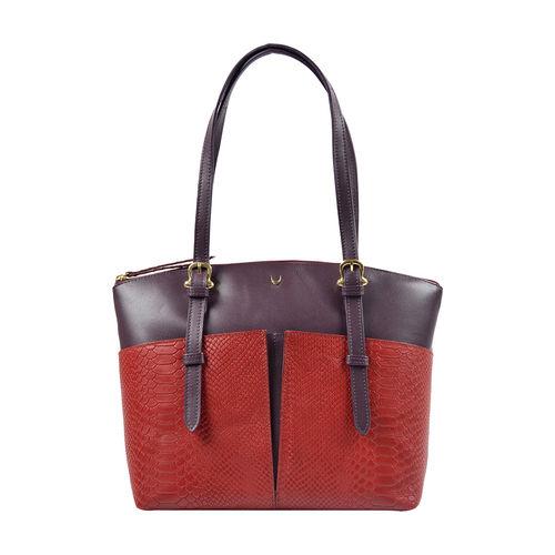 Virgo 01 Sb Women s Handbag, Snake Melbourne Ranch,  red