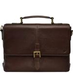 Merlin 03 Briefcase,  brown, siberia