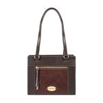 Libra 01 Sb Women s Handbag Ostrich,  brown