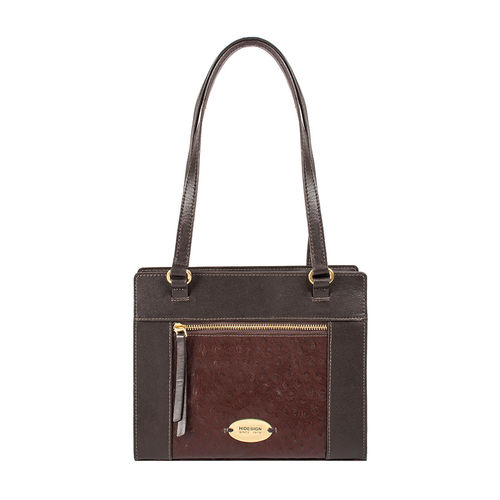 Libra 01 Sb Women s Handbag Ostrich,  brown