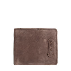 279-L107F (Rf) Men's wallet,  brown