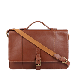 MAVERICK 01 BRIEFCASE REGULAR,  tan