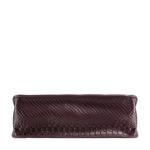 Delilah 02 Women s Handbag Snake,  aubergine