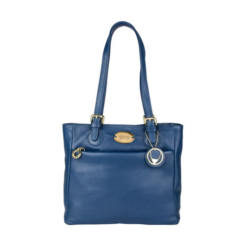 Lucia 02 Women s Handbag, Cow Deer,  blue