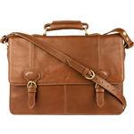 Parker 03 Briefcase,  tan, regular