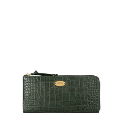 Mackenzie W1 (Rfid) Sb Women's Wallet, Croco,  emerald green