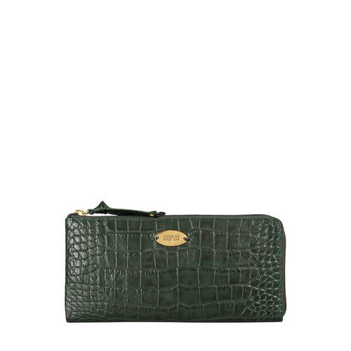 Mackenzie W1 (Rfid) Sb Women s Wallet, Croco,  emerald green