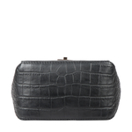 MIDNIGHT 01 WOMENS SLINGBAG CROCO,  black