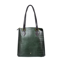SCORPIO 01 SB WOMEN'S HANDBAG CROCO,  emerald green