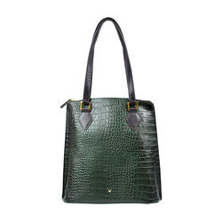 Scorpio 01 Sb Women's Handbag, Croco Melbourne Ranch,  green