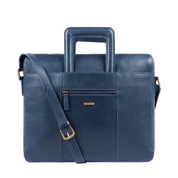 RUSSELL 03 BRIEFCASE DENVER,  midnight blue