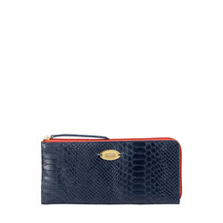 Gemini W1 Sb(Rfid) Women's Wallet, Snake Melbourne Ranch,  midnight blue