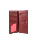 Chestnut W3 (Rfid) Women s Wallet, E. I. Sheep Veg,  red