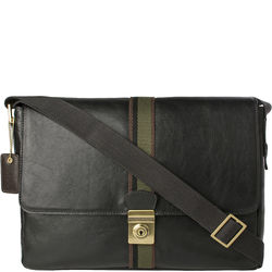 Marley 03 Messenger bag, regular,  black