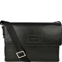 Stephenson 03 Men's Messanger Bag, Soho,  black