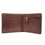 258-150 Men s wallet,  brown, khyber