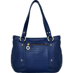 Nakasu 02 Women's Handbag, Melbourne Croco,  blue