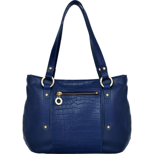 Nakasu 02 Women s Handbag, Melbourne Croco,  blue