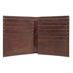 253-L015 (Rf) Men s wallet,  brown