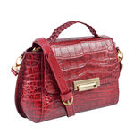 Hidesign X Kalki Alive 01 Women s Handbag Croco,  red