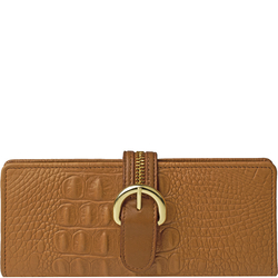 Harajuku W1 Women's Wallet, Baby Croco Ranch,  tan, baby croco