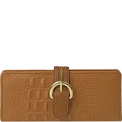 Harajuku W1 Women's Wallet, baby croco,  tan