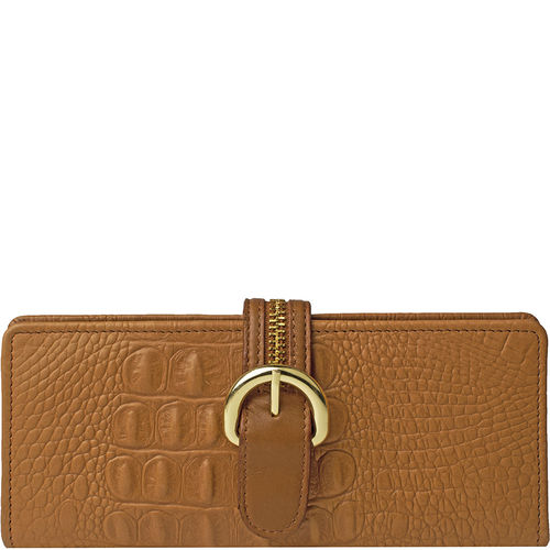 Harajuku W1 Women s Wallet, Baby Croco Ranch,  tan, baby croco