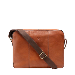 BAWA 02 MESSENGER BAG APACHE,  tan