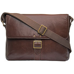 Vespucci 03 Messenger bag, khyber,  brown