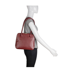 Estelle Small Women s Handbag, Regular,  red