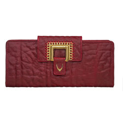 Amore W1 Women's Wallet, Elephant Lamb,  dark red, elephant