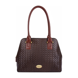 Frankfurt 01 Sb Women's Handbag, Hdn Woven Melbourne Ranch,  brown