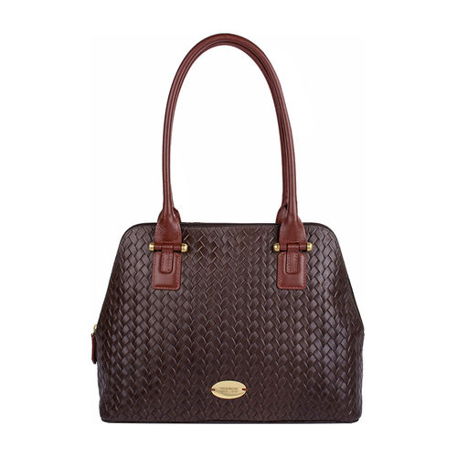 Frankfurt 01 Sb Women s Handbag, Hdn Woven Melbourne Ranch,  brown