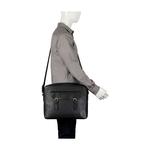 RONALDO 02 SB MESSENGER BAG PRINTED REGULAR,  black
