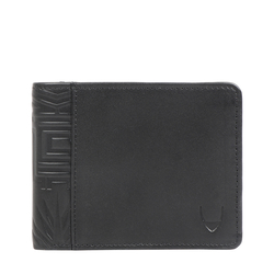 370-L103 RF MENS WALLET MELBOURNE RANCH,  black