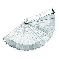 Proto USA 22 Blade Step Cut Feeler Gauge Set