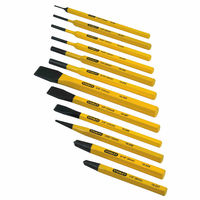 Stanley USA Punch & Chisel Kit 12 PC