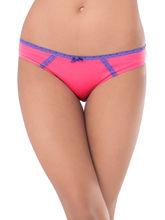 Prettysecrets Cotton Lace Bikini (PS0916BKLCBKN01), pink and purple, xl