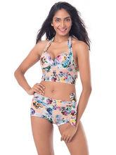 PrettySecrets Floral Sunkissed Tankini (PSW16SWM17B), multicolor, l