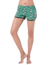 PrettySecrets Cotton Supersoft Shorts (PS0916CST03), green, l