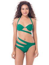 PrettySecrets Emerald Sunkissed Monokini (PSW16SWM12B), green, l