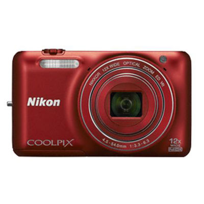 Nikon Coolpix S6600,  black
